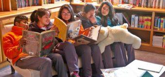 """""""Leyendo en Red"""" celebra el mes del libro en escuelas Panguipulli y Villarrica"""