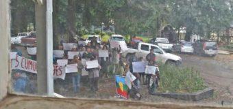 """Campesinos """"funan"""" al alcalde de Panguipulli durante actividad binacional"""