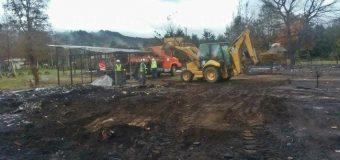 Alumnos de pre básica en Neltume retornarán a clases este lunes luego de incendio en Colegio
