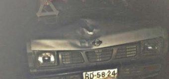 Peatón fue atropellado mientras circulaba en estado de ebriedad en ruta Panguipulli – Los Lagos