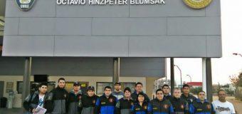 Bomberos de la comuna de capacitan en la Academia Nacional