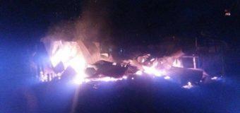 Incendio redujo a escombros vivienda de material ligero en Las Malvinas de Sector Los Tallos
