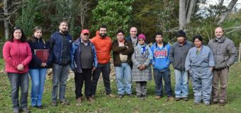 Agricultores de Lanco recibieron apoyo para  mejorar la Agricultura Familiar Campesina