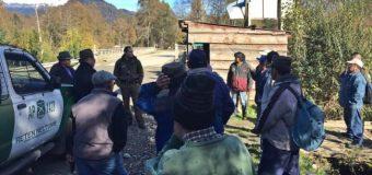 GOPE se sumó a búsqueda de adulto mayor extraviado en Lago Neltume Alto