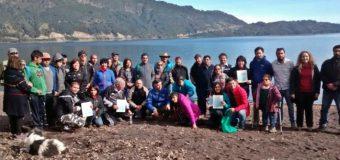 """Realizaron en Coñaripe el primer encuentro de pesca recreativa """"accesible"""""""