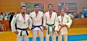 El Judo de Panguipulli se trajo 4 medallas desde Coyhaique