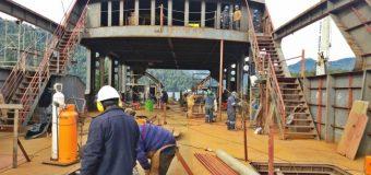 """Nueva barcaza """"Puerto Fuy"""" entraría al agua en agosto para pruebas y terminaciones"""