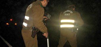 Hombre murió atropellado en ruta Coñaripe a Lican Ray
