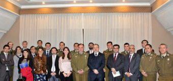 Fiscales y Comisarios de la región sostuvieron reunión de trabajo