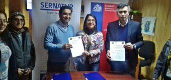 Sernatur y Conadi firman convenio de colaboración