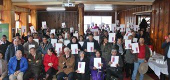 80 familias recibieron títulos de dominio en Panguipulli