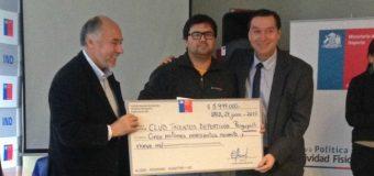 Club Talentos adjudica recursos que garantizan sueldos para profesores y nueva implementación