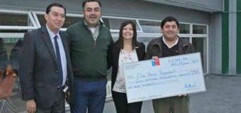 Club Remo Panguipulli recibió dineros para adquirir nueva implementación