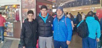 Futbolistas del Club Talentos iniciaron gira por Argentina, Paraguay y Brasil