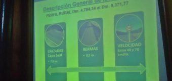 """Vecinos de Liquiñe discrepan de proyecto: """"nunca se nos habló de asfalto básico"""""""