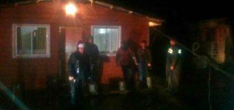 Hasta hoy, 6 casas han sido afectadas por voladura de techo en la zona de Coñaripe