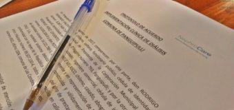 Firman convenio con empresa que hará obras del Centro de Diálisis Panguipulli, pionero en Chile