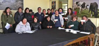 Hortaliceras de Corral mejoran su productividad gracias al convenio INDAP – PRODEMU