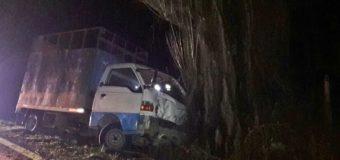 """Accidente deja un lesionado en """"Bomaza"""" Coñaripe. Uno de los conductores iba ebrio"""