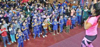 """En Panguipulli, escuelas Saludables celebraron """"Derechos de los Niños"""""""