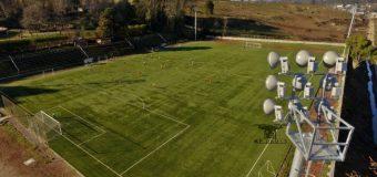 La semana próxima serán inauguradas las torres de iluminación del estadio