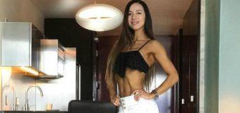 Panguipullense obtuvo segundo lugar en campeonato fitness en Las Vegas