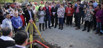 Este viernes, iniciaron las obras para asfaltar tramo Malchehue – Cultruncahue