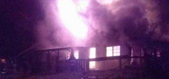 Incendio en exretén de Liquiñe deja a dos Carabineros damnificados
