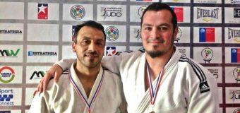 Panguipulli tiene 2 campeones sudamericanos de judo