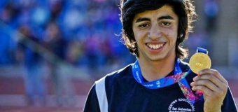Alumno del CESS viajará a sudamericanos de atletismo en Cochabamba