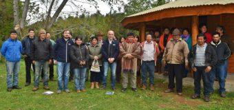 Comunidad de Lumaco e INDAP fijan acuerdos en materia agrícola