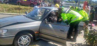 Al menos una lesionada tras accidente en Av Gabriela Mistral