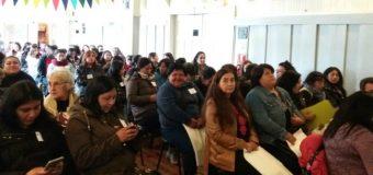 """Con más de 100 participantes se realizó el seminario de la mujer """"Participación y Liderazgo"""" en Panguipulli"""
