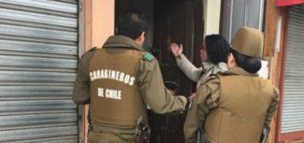 Delincuentes huyen con caja fuerte desde oficina contable en centro de la ciudad