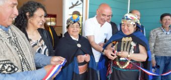 Con rogativa mapuche inauguran nuevas dependencias en oficina de INDAP Lanco