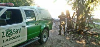 Detienen y formalizan a hombre de 70 años por incendio en Calafquén. También amenazó con suicidarse