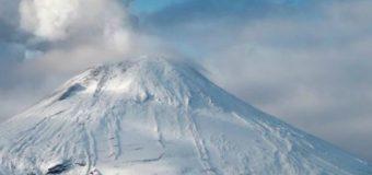 Sernageomin declaró en alerta amarilla el Volcán Villarrica por aumento en actividad