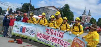 Conaf lanzó campaña provincial contra incendios en Panguipulli: Habrá 250 brigadistas disponibles