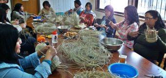 Beneficiarias de PDTI se capacitan en artesanías con voqui