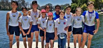 Plata nacional para Remo Panguipullense en campeonato de Curauma