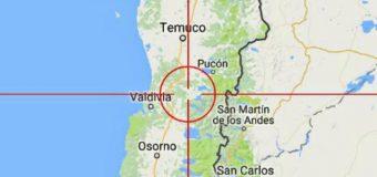 Sismo menor ocurrió esta mañana en cercanías de Melefquén