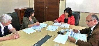 Administración del Hospital de Panguipulli se reunió con la Ministra de Salud