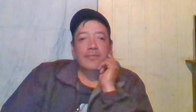 Alex Bernardo Carmona Villarroel de 40 años