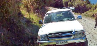 Carabineros recupera vehículo sustraído a Circo Alondra en Coñaripe