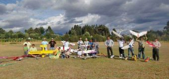 "Festival de ""aviones a escala"" se realizará este fin de semana en Panguipulli"