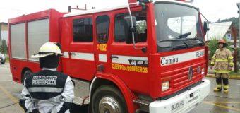 Cuerpo de Bomberos Panguipulli recibe unidades móviles para Calafquén y Pucura