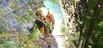 Encuentran cuerpo de hombre arrastrado por Río Fuy en Neltume