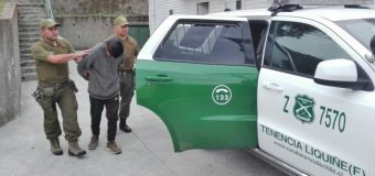 Carabineros detiene a menor por robo de dos bicicletas en Camping de Liquiñe