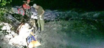 6 Horas tardó el rescate del cuerpo de hombre que se ahogó en Río Fuy