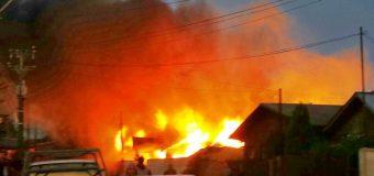 Incendio en Lanco consume Barraca, Panadería y deja serios daños en vivienda